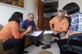 Diskusi kerjasama Program Studi Arsitektur dengan Department of Landscape Architecture Universiti Teknologi Malaysia